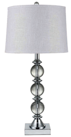 Crystal ball lamp